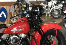 Harley Davidson Knucklehead EL 1947