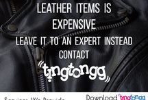 Leather items Cleaning At Tingtongg