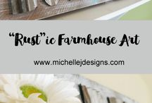 Home Things - Farmhouse / Farmhouse decor, DIY projects and tutorials