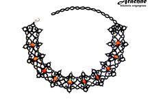 Arachne - biżuteria artystyczna / Moje rękodzieło - sutasz i frywolitka