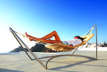 Seora Classic / Award winning lounger in Birch wood and stainless steel.