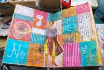 Оформление артбука/Art journal pages