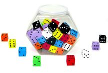Classroom Dice & Probability / Classroom Dice to help with probability,adding, subtracting and so much more.