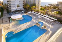 JS Palma Stay, Can Pastilla / A escasos 5 minutos del Aeropuerto de Palma de Mallorca, situado en una de las playas más deseadas de la isla, la Playa de Palma. Hotel solo para mayores de 16 años, donde podrá relajarse tomando el sol en nuestra bonita terraza, nadar en la piscina y  tomar un delicioso cocktail en nuestra barra húmeda o descansar en nuestras confortables y reformadas habitaciones.  / by JS Hotels