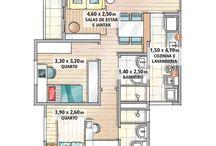 Casa de dois quartos