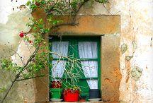 ventanas rústicas