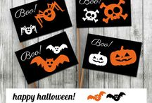 Halloween / Halloween Is Coming! Download Printable Halloween Flags Templates for very Low Price!