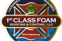 About 1st Class Foam Roofing / Learn more about 1st Class Foam Roofing and their team of Phoenix roofers!