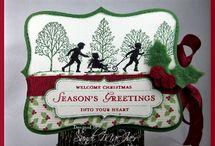 Christmas card inspirations / by Germaine Lenn