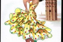 táncoló hölgyek