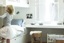 shared bedrooms / by DELPHINE ISENBAERT
