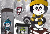 Colección SNOW / SACOS invierno y complementos de la colección SNOW  La forman los diseños ASPEN, CHAMONIX y NEVADA
