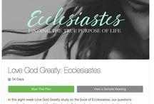 Bible study / Bible study resources