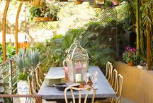 Dining Al Fresco / Beach living means eating outdoors and soaking up sunshine