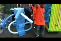 Imagination Playground / Imagination Playground is a breakthrough playspace concept conceived and designed by architect David Rockwell to encourage child-directed, unstructured free play, the kind of play that is critical to nurturing children's creativity. With a focus on loose parts, Imagination Playground offers a changing array of elements that allows children to constantly reconfigure their environment and to design their own course of play.