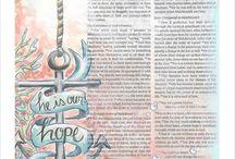 Bible Journal Art