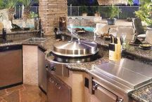 kültéri konyhák