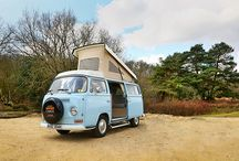 New Forest Safari's VW Campervans / Our beautiful classic VW Campervans