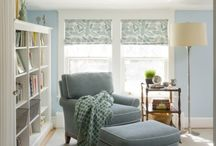 Spare room reading nook / by Ashley Diane