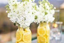 Γάμος με θέμα το λεμονι