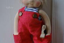 boy waldorf dolls