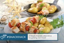 #SnackHack / Healthy Snack Ideas that are easy to do and can benefit your health! #SnackHack