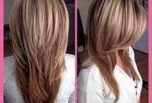 Haarschnitte und Farben