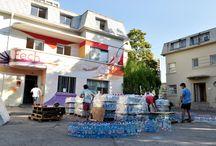 U. de Chile ayuda al Norte / Estudiantes de la Universidad de Chile enviaron alimentos y ayuda a los afectados del Norte. Fotos: Alejandra Fuenzalida