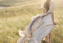 Look Book - Something Light & Ethereal / Photo shoot outfit ideas - something light & ethereal