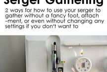 SERGERS / Sergers -Tip Instruction and Patterns
