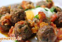 Köfteler / Köfteler, meatballs, köfte tarifleri, ana yemekler, pratik tarifler