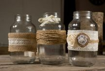Burlap & canning jars / by Bethany Reed-Horsman