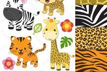 Nursery - Wild animals