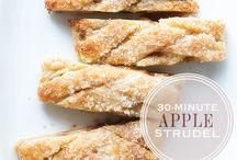 Autumn and apple desserts