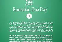 Ramadan Duas for 30 days / Duas for ramadan / by QuranReading.com