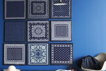 Inspiration: Blue on blue
