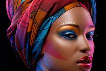 Afro make up