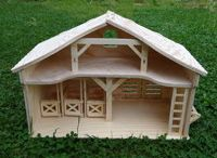 Wooden houses / toys, custom manufacturing, hand made, wooden toys, wooden houses