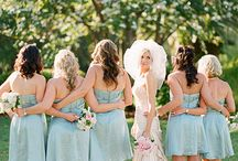 Spring Wedding / from coral to tiffany i love a spring wedding:)