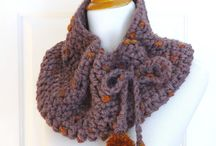 Cowls/Scarves / Knit and crocheted scarves and cowls