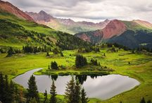 Trails in Colorado / Colorado, a western U.S. state, has a diverse landscape of arid desert, river canyons and snow-covered Rocky Mountains, which are partly protected by Rocky Mountain National Park.