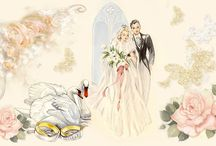 láska, svatba