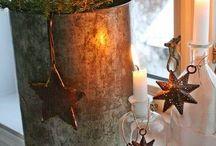 Święta / Okienna dekoracja