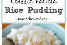 Rice Puddings