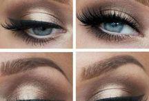 Make-up smoky eyes / maquillage, makeup, eyes, beauté, beauty, smoky eyes, smoky