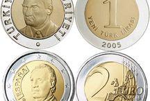 Money Coin / Cumhuriyet Dönemi ve Osmanlı Dönemi Emisyon Paraları