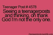 Teenage posts