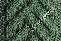 Вязанье. Узоры и схемы
