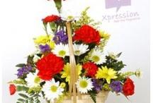 Basket of Gerberas & Carnations
