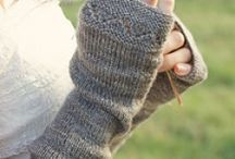 stricken stulpen/handschuhe
